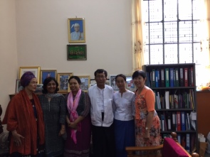 Mandalay Workshop, team photo