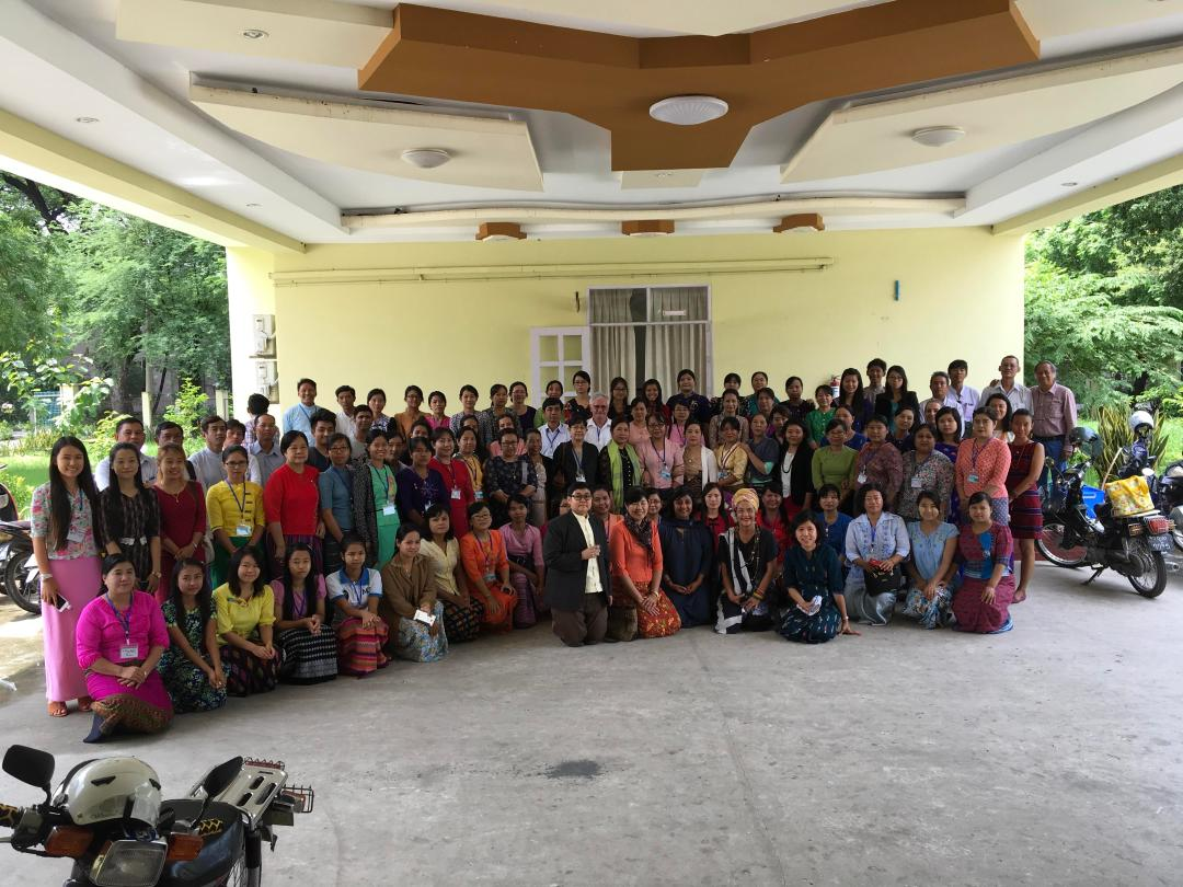 Mandalay Workshop participants, July 2017