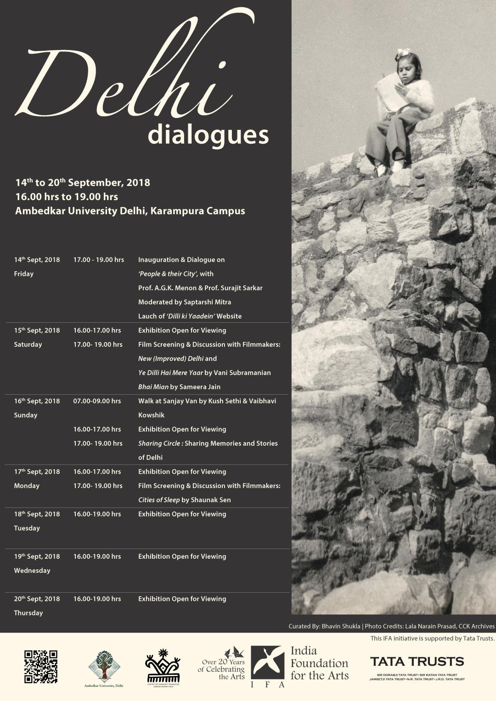 Delhi Dialogues Schedule